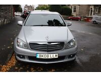 2008(58) MERCEDES C220 CDI SE SALOON AUTOMATIC 2.1 DIESEL LOW MILEAGE 75000
