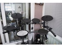 Roland TD-6KV Electronic Drum kit, Roland Drum Amplifier and Midi USB adaptor