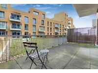 Breathtaking 2 Bed Two Bath Flat with Large Private Terrace Located In Bow E3