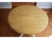 Round Table Wood Drop Leaf