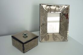 Next - Picture frame & Trinket box