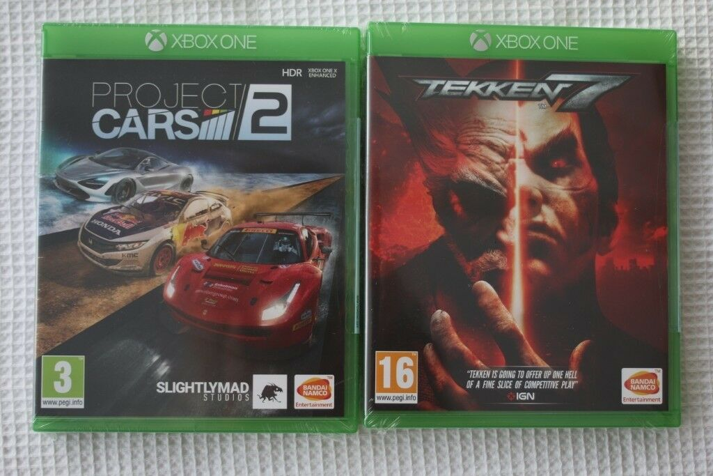 Xbox One Games Brand New Sealed Tekken 7 Project Cars 2 In Corstorphine Edinburgh Gumtree