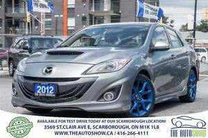 2012 Mazda Mazdaspeed3 Navigation Custom Exhaust