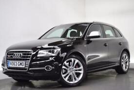 AUDI Q5 3.0 SQ5 TDI QUATTRO [REAR ENTERTAINMENT] 5d AUTO 3 (black) 2013