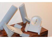 HiFi Speaker Brackets B-Tech Heavy Duty Wall Mount