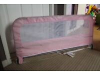 Easy Fit Bed Guard - Pink - Safe & Secure Your Baby