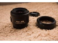 Nikon 35mm f1.8 DX G lense