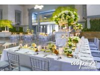 **WEDDING & VENUE DECORATION –CENTREPIECE HIRE Tel:02084234330 or 07904938852 ***