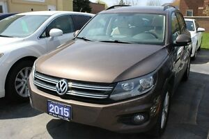 2015 Volkswagen Tiguan Comfortline Panorama Roof Leather