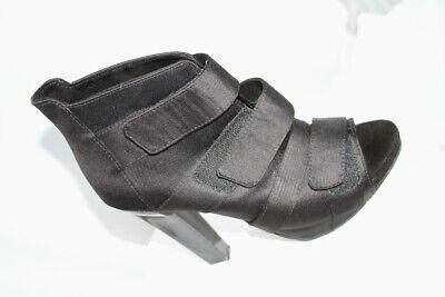 Bershka Black Peep Toe Ankle Shoes Size 5 na sprzedaż  Wysyłka do Poland