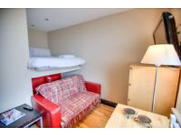 SELF CONTAINED , NICE STUDIO FLAT IN NOTTING HILL***ALL BILLS INCLUDED+COUNCIL TAX INCLUDE ~~