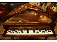German made baby grand piano - Tuned & UK delivery available
