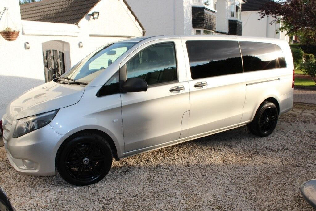 Mercedes Vito Tourer With Many Extras Amg Alloys Sat Nav And Stage