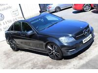2011 MERCEDES C CLASS C220 CDI BLUEEFFICIENCY SPORT 168 BHP *NIGHT EDITION SPEC*(FINANCE & WARRANTY)