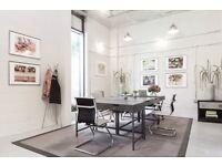 Desk space available in light and airy studio in Putney, Open plan studio 800sq ft.