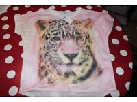 Tamy Girl Tiger T Shirt Age 12-13 years (Brand New)