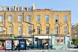 Two bedroom split level apartment with private roof terrace located moments from Camden Town station