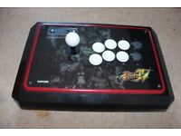 Madcatz PS3 Fightstick / Arcade stick Controller - Street Fighter IV Tournament Edition