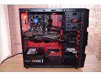 Gaming PC - i3 4170 - 16GB DDR3 - GTX 760 OC- 128GB SSD - 500GB HDD - WIFI - NEW - UNDER WARRANTY