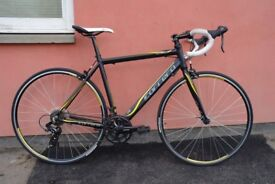 Gents Racing Bike Carrera Zelos 53 cm Alloy Frame Shimano 14 Speed SDI Levers Can Deliver If Local