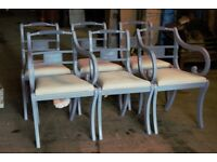 Set of 6 Vintage G. T Rackstraw Dining Chairs