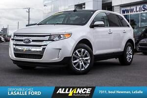 2014 Ford Edge LIMITED | AWD | CUIR | CAMERA | TOIT | GPS A Real