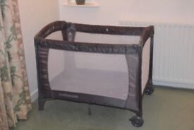 Mothercare Classic Travel Cot- only had 2 months use. Retails at £80.00. Will accept £17