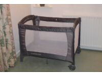 Mothercare Classic Travel Cot- only had 2 months use. Retails at £80.00. Will accept £10.00