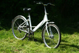 Pashley Bicycle Unisex Post Office Model in White