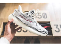 ***OPEN TO OFFERS*** YEEZY Boost 350 v2 Zebra - UK 7.5 Brand New With Box Kanye West