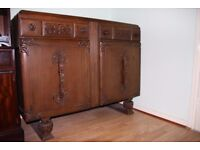 ANTIQUE FURNITURE /COCKTAIL CABINET /SIDEBOARD IN GOOD ORDER COLLECTION IN PERSON. LONDON, SE8 £75
