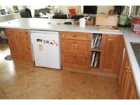 Kitchen for Sale. Large number of Pine Units