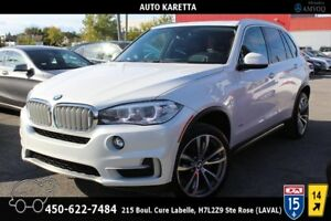 2015 BMW X5 XDrive 35I TOIT, NAVI, HEADS UP DISPLAY, MAGS 20''