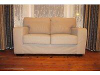 2 Seater Sofa / Settee in Beige