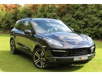 PORSCHE CAYENNE 4.8 Turbo S Tiptronic S AWD 5dr (black) 2013
