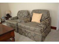 Vintage DERWENT Three Piece Suite - 3-seater Sofa & 2x Armchairs