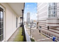 Chelsea Harbour SW10. Beautifully refurbished two double bedroom flat to rent.
