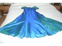AQUA/BLUE BRIDESMAID DRESS - £10