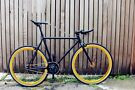 GOKU CYCLES Special Offer! Steel Frame Single speed road TRACK bike fixed gear racing bike bym