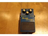 Boss BD-2 Blues Drive classic overdrive Monte Allums mod