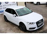 Audi A3 2.0 TDI Black edition spec 5d 148bhp (Finance & Warranty)