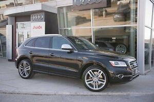 2015 Audi SQ5 3.0T Technik Quattro 8sp Tiptronic