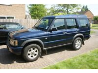 Land Rover Discovery 2 Td5 GS 2003 Oslo Blue Manual only 106k miles