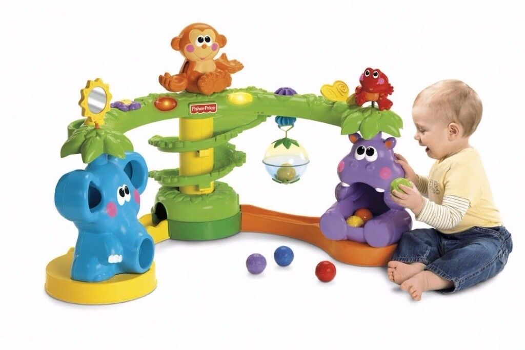 Ball Drop Toy : £ fisher price go baby ball drop toy musical jungle
