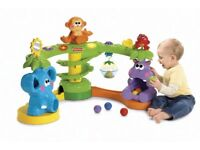 £120 Fisher Price Go Baby Go ball drop toy Musical Jungle baby gym play station