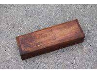 Oilstone in a Wooden box