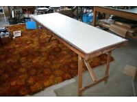Trestle Table many uses
