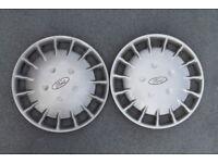 Ford Fiesta wheel trims 13 inch x 2