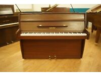 Small compact Zender upright piano - Tuned & UK delivery available
