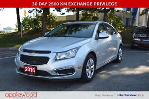 2016 Chevrolet Cruze LTD, SUNROOF, REAR VISION CAMERA